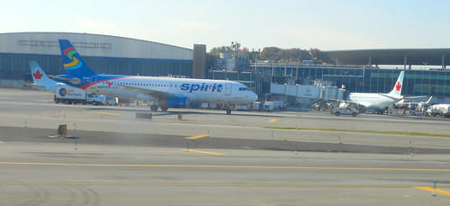 Spirit Airlines A320-232, N601NK, as NK 921 LGA-MYR