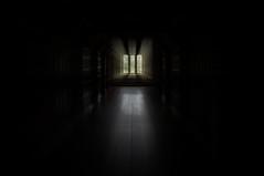 Halloween at Barrington Court (Tim Dawson) Tags: halloween window exposure zoom nt corridor somerset spooky ghostly nationaltrust barrington 2014 barringtoncourt