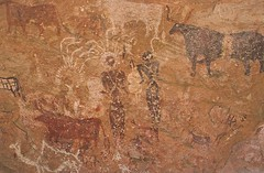 Kozen Dong (ursulazrich) Tags: sahara cattle chad paintings feather bull camel warrior shield rockart petroglyphs spear tchad tschad ciad ennedi tibesti gravuren