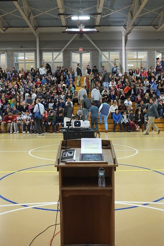 Speaking at The Hopkins School