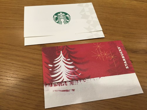 Holiday Starbucks Card 2014
