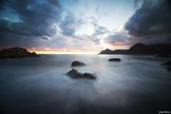 Playa del Lastre (long exposure) (Legi.) Tags: longexposure sunset atardecer nikon tokina cartagena 116 largaexposición d600 portmán launión playadellastre