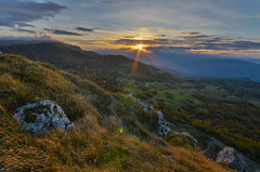 Sunset in Montefeltro