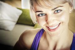 Killer Smile (IT-nok) Tags: portrait woman house color colour home girl smile face smiling casa donna col