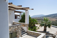 irenes v iew-88 (epistimigallery) Tags: life family blue houses light vacation color castle water pool night swim island mirror cool ship village view balcony room cyan rent villas paros lightlife cycldes