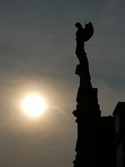 Riposare (Ray G Photography) Tags: sculpture silhouette angel lumix cemetary panasonic g1 megaois dmcg1 gvario 14140mmf456 photoeditorapp