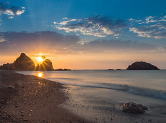 Sunset Tossa de Mar (garriga5) Tags: longexp nit sesilletes sunrise tossa
