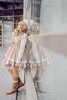 SDF_7887 (SendoFu) Tags: bonnet ボンネット エプロン風スカート blouse bl ブラウス headbow kc カチューシャ bnt 蕾絲 維多利亞 jsk op onepiecedress ワンピース jumperskirt ジャンパースカート nop lolita lolitafashion 蘿莉塔 蘿莉塔時裝 ロリータ・ファッション sweetlolita classicallolita