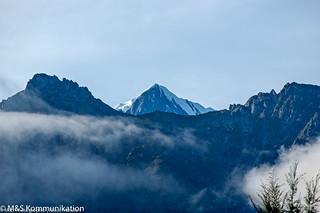 Gebirgslandschaft aufgenommen auf der Südinsel von Neuseeland - Mountain landscape photographed on the South Island of New Zealand