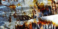 Burn (J!bz) Tags: abstrait abstract abstracto macro closeup pentax light jbrphotography kitchen cuisine aluminium feuille hoja patterns motifs texture couleur colours colores