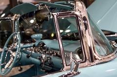 (gingerhollingsworth) Tags: restored aquablue carinterior worldofwheels chrome convertible cars