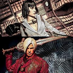 'Demon Hunters II' (vince.warrican) Tags: devilmaycry3 devilmaycry devilmaycrykitbashfigure demonhunter devilmaycrycustomfigure devilmaycrydante ladydevilmaycry devilmaycry4 devilmaycry16scalefigure devilmaycryactionfigure capcom dmc dmc4 videogamefanart videogamecharacters videogames marydevilmaycry blackhairedgirl redeye silverhair whitesuit swordsman dualpistols rocketlauncher badass stylish sonofsparda danteactionfigure dantesparda dante dante16scalefigure dantecustomfigure onesixthscale kitbash actionfigurephotography actionfigures customfigure costume colourfulportrait sword