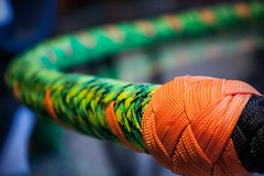 Paracord Whip (Mach-One-Photography) Tags: photography photograph photographer canon rebelt6 1300d photoshop lightroom edit bullwhip whip paracord handmade colors rope crack