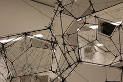 Aerial Structures (JB by the Sea) Tags: sanfrancisco california december2016 sanfranciscomuseumofmodernart sfmoma financialdistrict tomassaraceno stillnessinmotioncloudcities