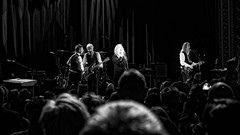 63+467: Patti Smith in concert, Sydney, 09/04/17 (geemuses) Tags: pattismith punk rockmusic music rockandroll rocknroll horses album lp performance entertainment show gig statetheatre sydney nsw australia lennykaye tonyshanahan audience