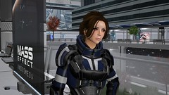 Decent Character Models (alexandriabrangwin) Tags: alexandriabrangwin secondlife 3d cgi computer graphics virtual world photography mass effect andromeda new game silly funny flawed character animations pewdiepie review electronic arts ea bioware presidium alliance heavy armor citadel