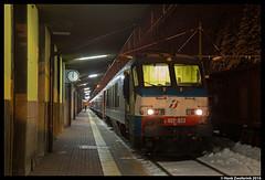 Trenitalia 402 033, Brennero 07-11-2016 (Henk Zwoferink) Tags: roma termini henk zwoferink trenitalia fs 402 033 trentinoalto adige brenner brennero italië nachttrein nachtzug