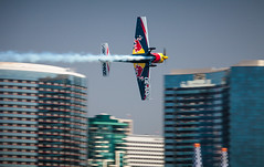Red Bull Air Race (Kevin Baird) Tags: aerobatics airplane airshow aviation flying rebbull redbullairrace sandiego sandiegobay sandiegoskyline skyline