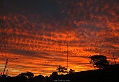 Beautiful Sunset in Umuarama-Brazil, 16/04 (asaffsaabdesouza) Tags: sunset sol sunsetlove sunsetbrasil clouds cloudscapture canon cloudscape clima chuva fotografia life pordosol photographo paraná panoramica paisagem mammatus nuvens