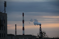 Heating plant smokestacks , Wrocław 05.03.2017 (szogun000) Tags: wrocław poland polska city cityscape buildings architecture industrial industry heatingplant smokestacks urban morning dolnośląskie dolnyśląsk lowersilesia canon canoneos550d canonefs18135mmf3556is