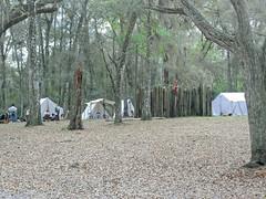Soldier Camp, Fort Cooper State Park (StevenM_61) Tags: reenactment livinghistory camp fort statepark park stockade tents inverness florida