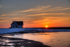 sunset on the prairie (journey ej) Tags: