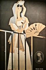 Spanish Woman (1928) - José de Almada Negreiros (1893-1970) (pedrosimoes7) Tags: josédealmadanegreiros caloustegulbenkianmuseem moderncollection lisbon portugal creativecommons cc museu musée museum spanishwoman ✩ecoledesbeauxarts✩ artgalleryandmuseums
