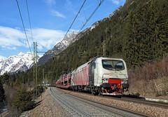 EU43 006, Fleres, 22 Feb 2017 (Mr Joseph Bloggs) Tags: rtc rail traction company eu43 006 e412 brenner brennero fleres verona lokomotion 48861 railroad railway train treno freight cargo merci
