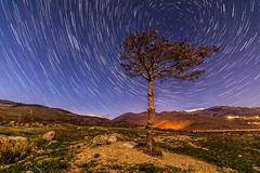 Circumpolar en el monte de Saneja (Mad max ll) Tags: nocturna cerdanya saneja circumpolar fotografianocturna