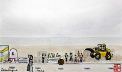 Le Tour de France virtuel - 59 - Nord (chando*) Tags: croquis sketch aquarelle watercolor france