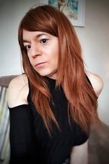 Cobre (Steph Angel) Tags: stephangel steph girl ginger female feminine femme tgirl trans gender tranny transvestite hair longhair