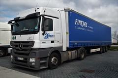 DSC_0008 (richellis1978) Tags: truck lorry hgv lgv transport haulage logistics cannock mercedes benz actros lt lithuania mp3 got704 finejas