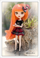 Nueva custom (Geno G.) Tags: angelgate pullip pullips pullipcustom pelirroja naranja faldadecuadros