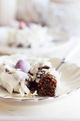 Chocolate carrot cakes para Pascua (Uno de dos) Tags: chocolate pascua zanahoria huevos postres donut unodedos
