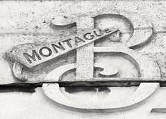 B for Burtons Tailors Guildford High Street (Song-to-the-Siren) Tags: guildfordhighstreet guildford digital panasonicfz2000 bridgecamera zoomcamera fz2000 lumix april 2017 b burtons tailors montague sign