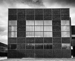 Cube (frankdorgathen) Tags: town urban city abandoned essen ruhrgebiet zollverein zeche industry outdoor würfel blackandwhite monochrome architecture building cube