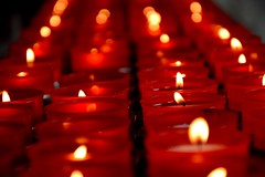 Candles. (mattia.gambazza) Tags: candle fire flame church trento bolzano italy