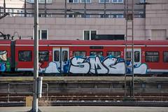 _DSC7776 (Under Color) Tags: hannover sbahn graffiti train zug db strain subway subwayart traingraffiti steel german niedersachsen