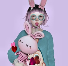 my nearly free easter-bunny (Sepia L.) Tags: secondlife easterbunny aveline beusy mudskin chickadee hello dave wellmade ninety daju albzannsibar analeebalut fawn autumnsplendor slink maitreya ebody belleza