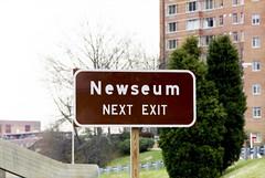 Newseum's original location in Arlington, VA