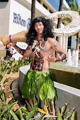 Wondercon 2017 - Maui Demigod (rikioscamera) Tags: anaheim anaheimconventioncenter conventionevents cosplay costume event wondercon wondercon2017 d750 lightroom nikon moana disneyanimation demigod maui mauicosplay