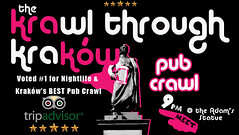 What's life like as a professional drunk guide? Find out here: https://t.co/3SZ2ghNiym………………………………………………………………………… https://t.co/PKS2rKjJIS (Krawl Through Krakow) Tags: krakow nightlife pub crawl bar drinking tour backpacking