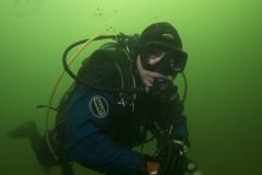 Diving Toolenburg (Arne Kuilman) Tags: toolenburg hoofddorp duiken diving drysuit diver me photonotmine underwater scubadiving duiker santi waterproof newlakedivers santiespace
