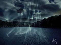 GODSLAYER - The Crystal Sea (Vitali Andrea) Tags: painting wonders matte meraviglie godslayer calydorn