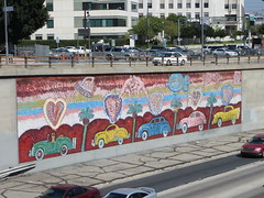 20140830 60 Mural along Santa Monica Freeway