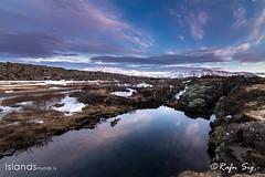 Fissure at Thingvellir