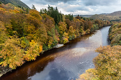 Killikrankie18Oct14_8210 (Cap'n Fishy) Tags: autumn scotland perthshire rivergarry killiekrankie garrybridge