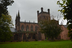 Chester Cathedral, Cheshire, UK (CoasterMadMatt) Tags: pictures city uk greatbritain autumn england building english heritage history fall church wall architecture religious photography town nikon october worship cheshire cathedral photos unitedkingdom britain united religion great cathedrals kingdom landmark structure christian chester photographs gb british walls walled walledcity chestercathedral 2014 nikond3200 walledtown d3200 chesterwalls coastermadmatt october2014 coastermadmattphotography