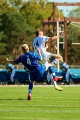 K_IM4105 (westminster.college) Tags: playing men net sports ball goal team athletics kick soccer mens jersey score titans 2014 menssoccer 2014menssoccer