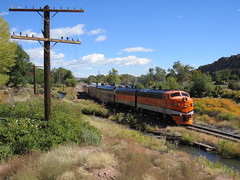 The Royal Gorge Route (Patricia Henschen) Tags: royalgorgeroute royalgorge canoncitycolorado arkansasriver railroad locomotive vistadome denverriogrande usroute50 canoncity colorado